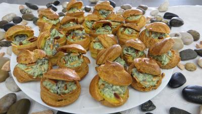 Image : Assiette d'escargots farcis surprise