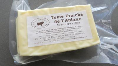 Photo : Tome fraîche de l'Aubrac