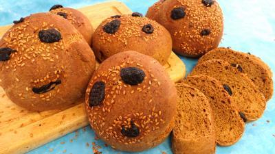 fête du pain : Pains à la mélasse