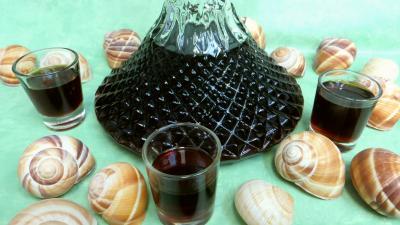Boissons : Carafe de liqueur de café
