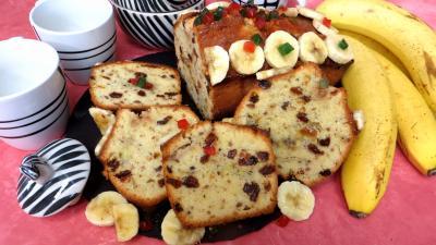 cake : Tranches de cake à la banane