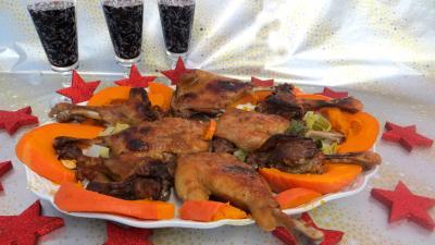 Pâques : Plat de confit de canard à la sauce soja