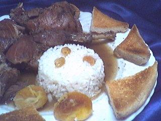 Image : Assiette de faisan en salmis