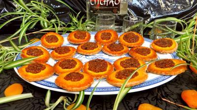 Recette Assiette de biscuits d'abricots secs