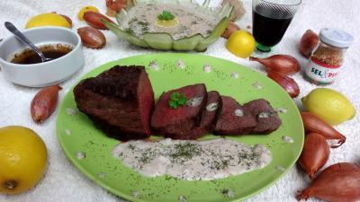 Recette Assiette de bison