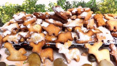 Cuisson au bain de friture : Assiette de bestiaire de carnaval