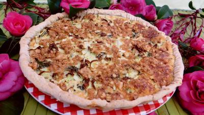 Entrées & salades : Clafoutis au chou et aux brocolis