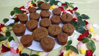 nèfle du japon : Muffins aux nèfles sans gluten