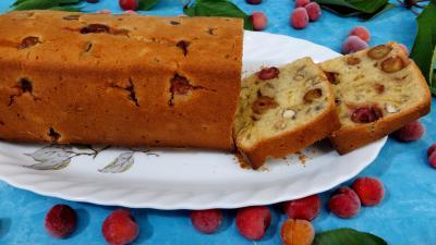 cake : Cake aux cerises