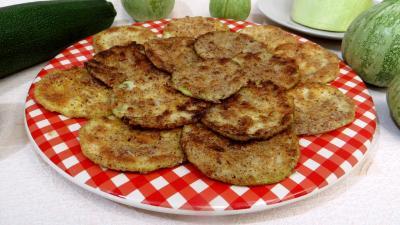 Cuisine diététique : Courgettes panées
