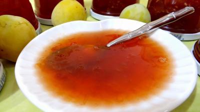 citron vert : Confiture de prunes au tilleul