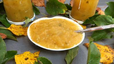 Image : Compote de pommes à la stévia pour diabétiques