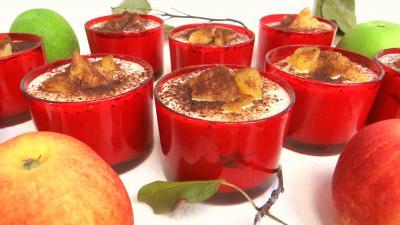 biscuit cuillère : Tiramisu aux pommes