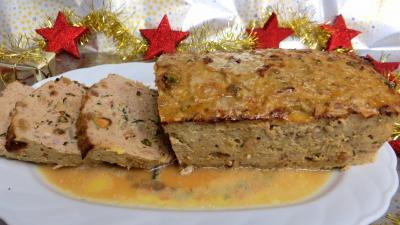 Recette Assiette de pain de boeuf et dinde