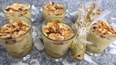 Image : Verrines de pommes crémées à la stévia pour diabétiques