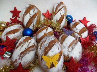 Pains & pâtes : Petits pains rustiques aux farines
