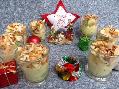kiwi : Verrines de salade de fruits à la stévia pour diabétiques