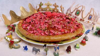 Desserts : Galette des rois aux pralines