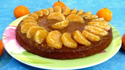 Image : Gâteau aux clémentines