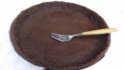 Image : Pâte sablée au chocolat