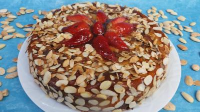 ricotta : Cheesecake aux fraises