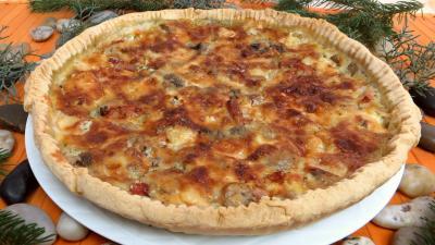 tarte : Tarte au gorgonzola