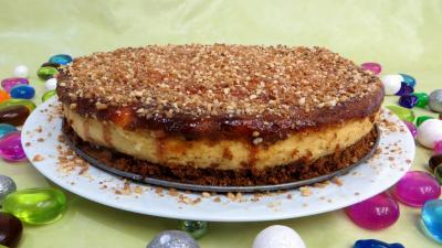 Dessert à base de fromage blanc : Cheesecake à la vanille