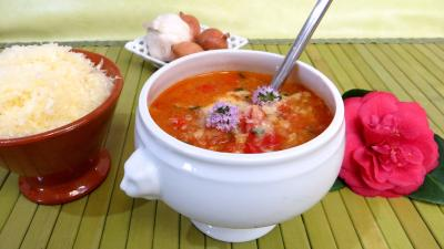 Potage la tomate supertoinette la cuisine facile - Potage a la tomate maison ...