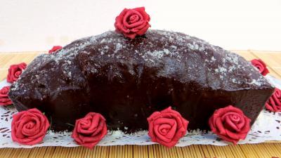 gâteau au chocolat : Marbré chocolat citron