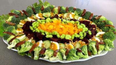 Entrées & salades : Salade de brocolis et fèves