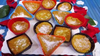 Gâteau : Petits gâteaux mousse de bananes
