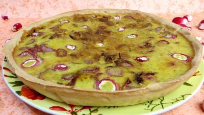 cuisine fromage : Tarte aux fromages frais et radis