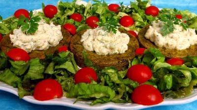 Légumes : Croustillants de pommes de terre à l'oseille et crevettes