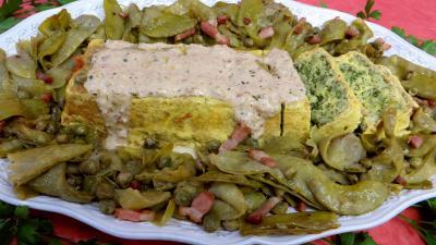 Image : recette Mousseline de flétan aux haricots plats