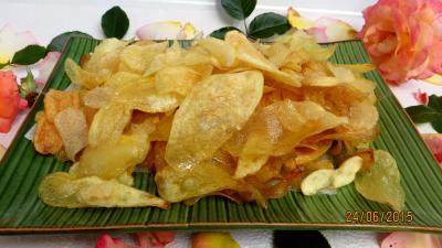 Cuisson au bain de friture : Chips au vinaigre