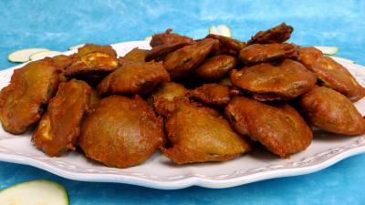 beignets salés : Beignets de courgettes