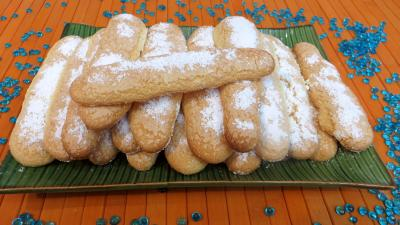 maïzena : Plat de biscuits à la cuiller