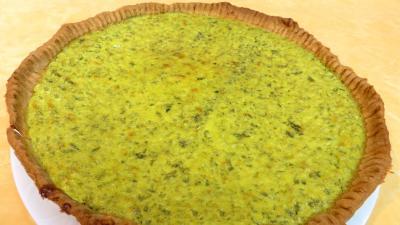 Légumes : Assiette de tarte au caillé