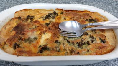 mozzarella : Gratin de cannelloni