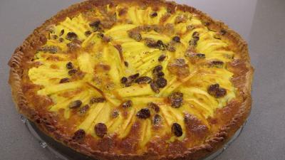 Tarte aux pommes et raisins secs - 7.1