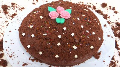 Fête des mères : Gâteau choco-bananes
