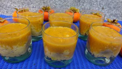 Desserts : Verrines de kakis au riz