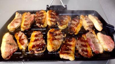 magrets de canard grill s supertoinette la cuisine facile. Black Bedroom Furniture Sets. Home Design Ideas