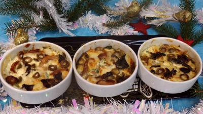 Cuisine diététique : Cassolettes de flans de cabillaud