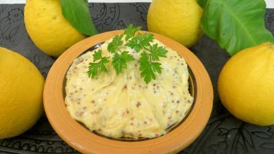Image : Bol de sauce mayonnaise à la bergamote