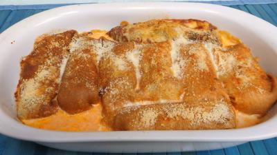ananas : Rouleaux de crêpes au Caprice des Dieux