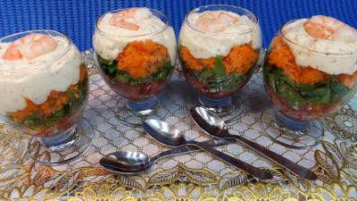 Entrées & salades : Cappuccino de carottes