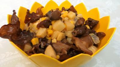 Image : recette Champignons noirs à l'ail