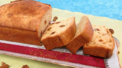 miel : Cake aux cranberries