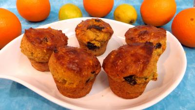 Recette Plat de petits cakes au citron et à l'orange